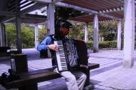 鏡山公園で練習=3