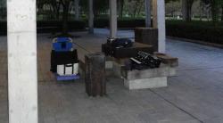 鏡山公園で練習20130927-1