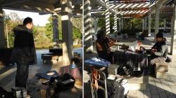 鏡山公園でアコの練習20131124-3