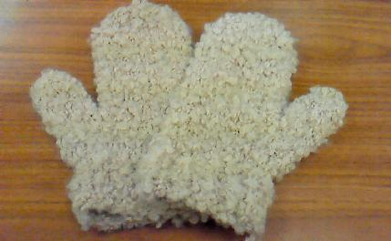 アルパカ手袋