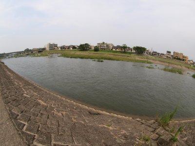 モモちゃんのホームグランド 犀川