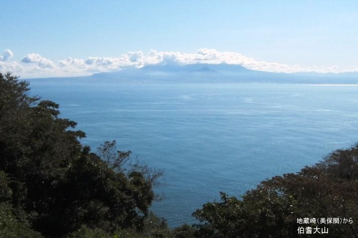 地蔵崎から大山