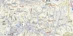 鎌倉アルプス地形図