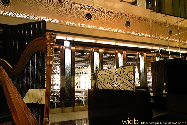 ハープ演奏もあり贅沢な空間☆ 味も良しだからびっくりした