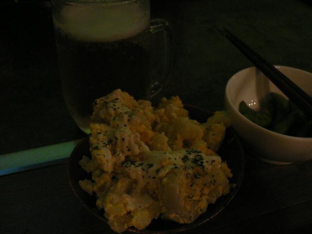 ポテサラ&ビール!