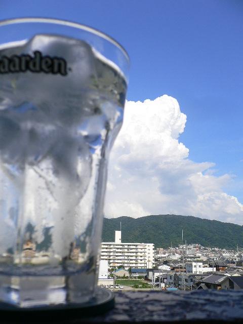 生駒山系に乾杯!