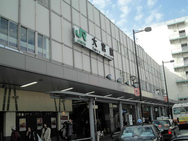 JR大宮駅。。