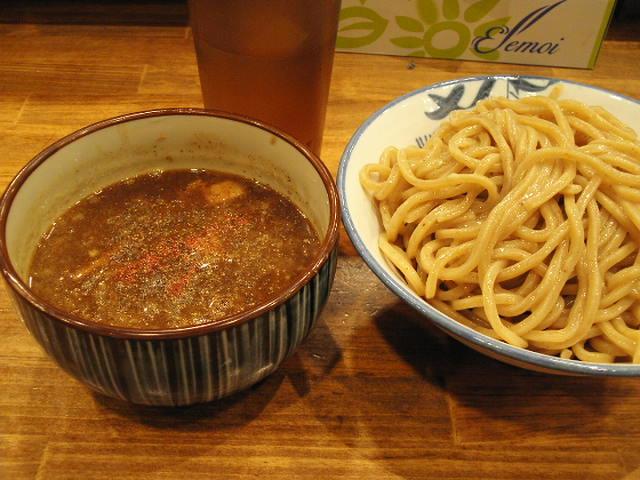 濃厚つけ麺(並~特盛まで¥780也)