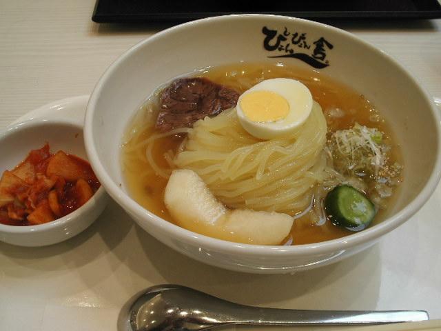 ぴょんぴょん舎の冷麺は美味い!