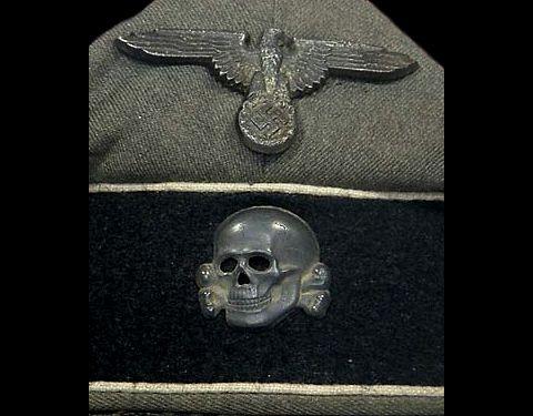 武装SS将校・下士官(旧)野戦帽_02