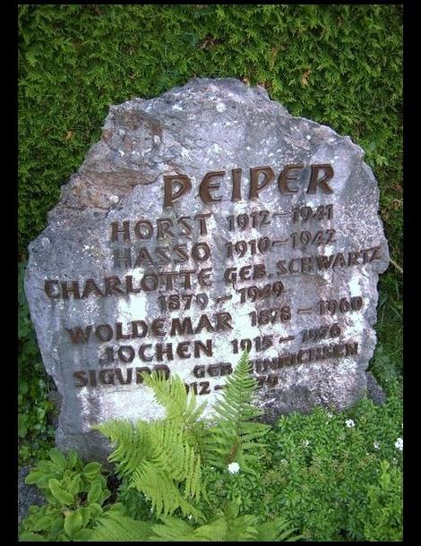 Jochen Peiper's Grave
