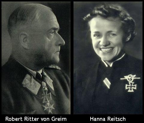 Robert Ritter von Greim_Hanna Reitsch