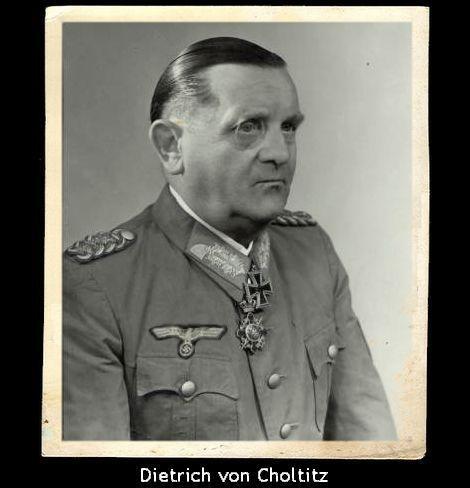 ディートリヒ・フォン・コルティッツ陸軍歩兵科大将