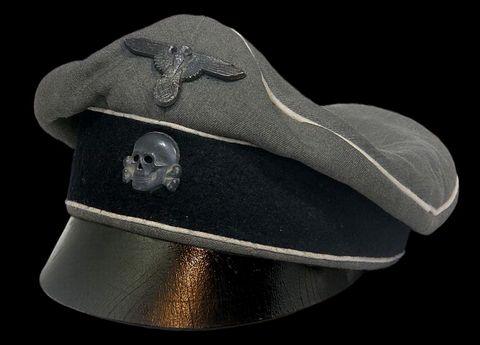 武装SS将校・下士官(旧)野戦帽_01