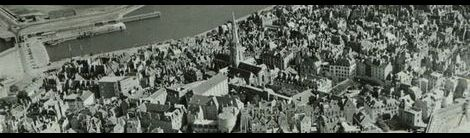 1940年撮影のサン・マロ遠景