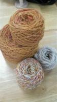 Aさん手紡ぎ糸