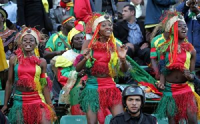 Cameroon soccer suppoeter