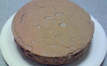 チョコムースケーキホール
