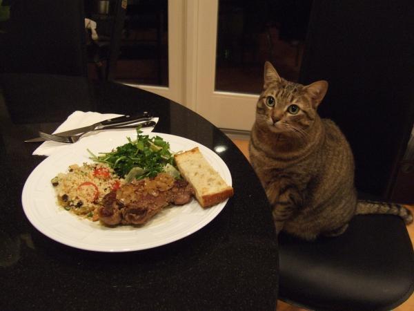 さっちゃんとステーキ