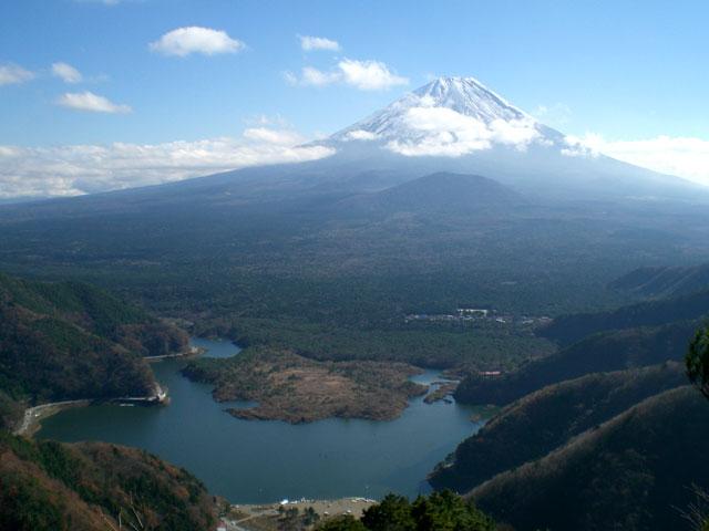 精進峠から子抱き富士