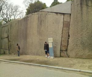 大阪城大石垣