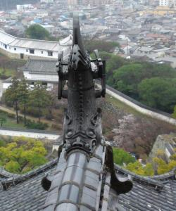 姫路城鯱鉾20100411214708