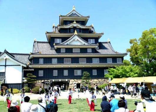 岡山城踊り