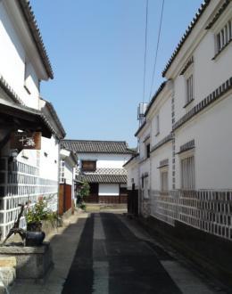 海鼠塀倉敷