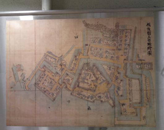 三原城図面
