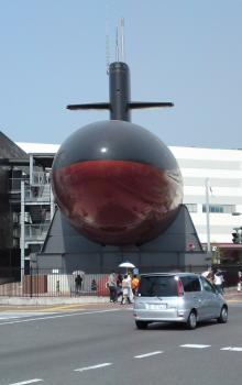 潜水艦正面