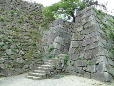 天主台石垣