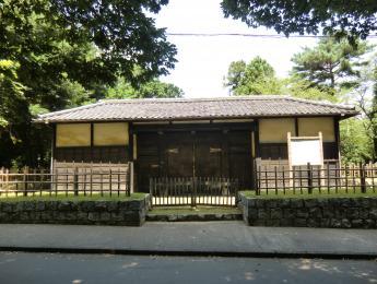 岩槻城跡黒門