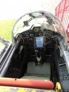 F-104Jコックピット