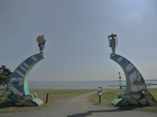 小川原湖入口