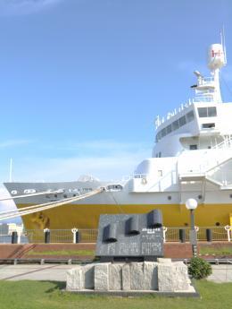 八甲田丸と津軽海峡冬景色