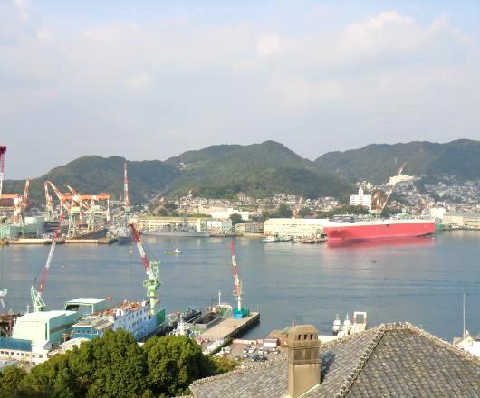 長崎湾遠望