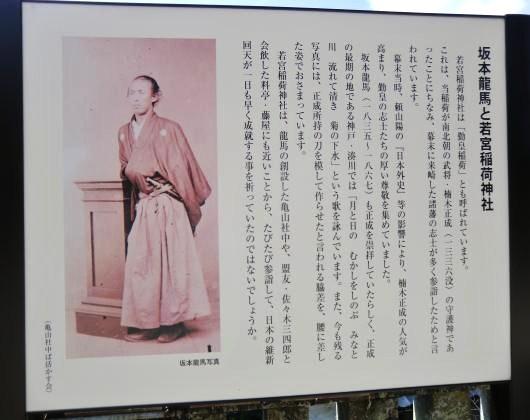 坂本龍馬と若宮稲荷神社