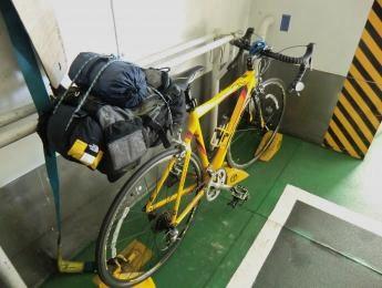 フェリーin自転車