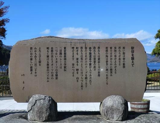 箱根駅伝の碑
