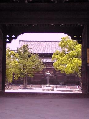 南門から金堂を見る05290008_convert_20110127231306