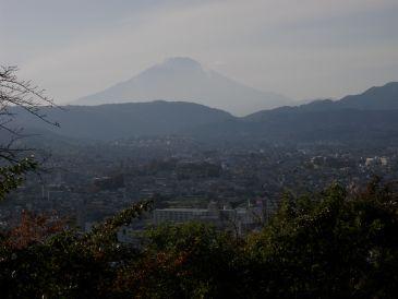 0911浅間山からの富士
