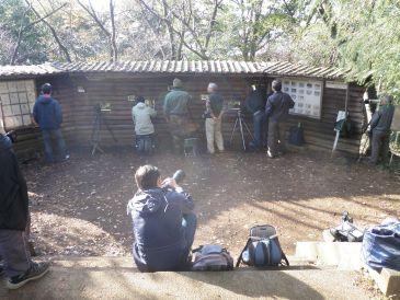 0911権現山の野鳥観察スペース