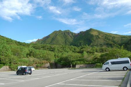 1峰の茶屋駐車場
