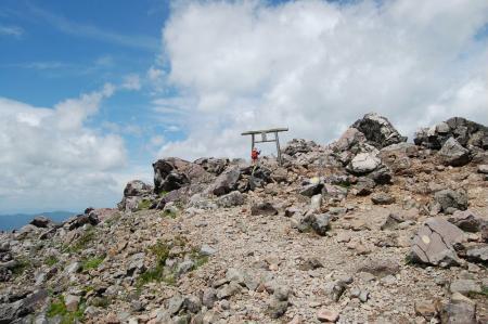 21茶臼岳へ