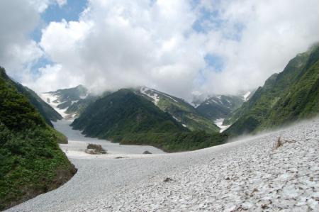 25雪渓出合