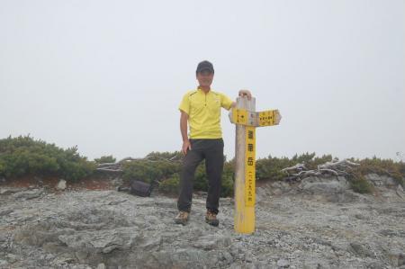 40蓮華岳