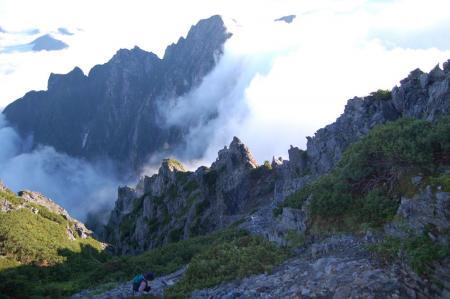 67赤沢岳へ