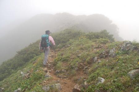78鳴沢岳へ