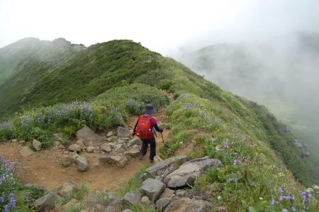 2文殊岳から下山58