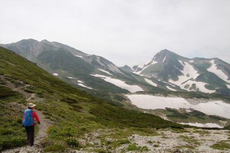 93白馬岳と旭岳